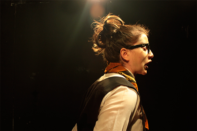 La profesora Rosalba Scholasticus